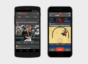 team stream on android and iphone