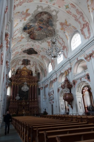 Jesuit church interior