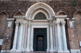Venetian Door and Columns