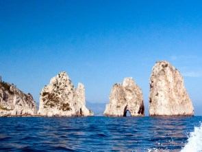 Clear skies and cool waters of Capri