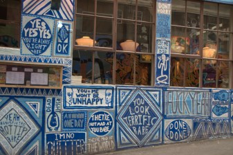 Blue Mural, Melbourne