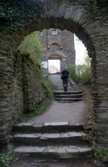 Steps to Burg Stahleck, Bacharach, Germany