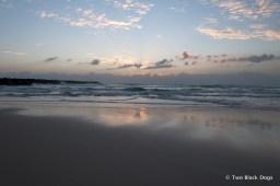 Beautiful Autumn morning at the beach
