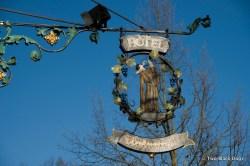 Hotel sign in Rothenburg