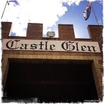 Entry to Castle Glen: distillery, winery and home to delicious caramel fudge