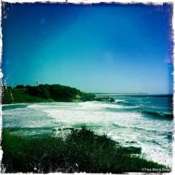 Yamba beach and headlands