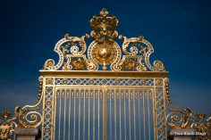 Golden gates of Versailles