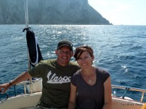 Cruising from Capri to Sorrento