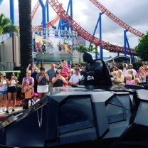Batman in the MovieWorld Parade