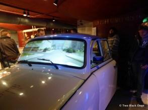 Trabant driving simulator, DDR Museum