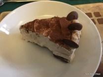 Baileys and Chocolate cheesecake, Garden Arms Hotel Gardenstown