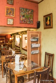 Inside Cocoa Tree cafe