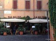 Da Gildo restaurant in Trastevere