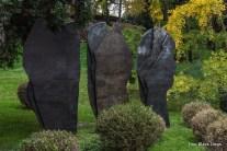 Stone sculpture in Jardin des Plantes