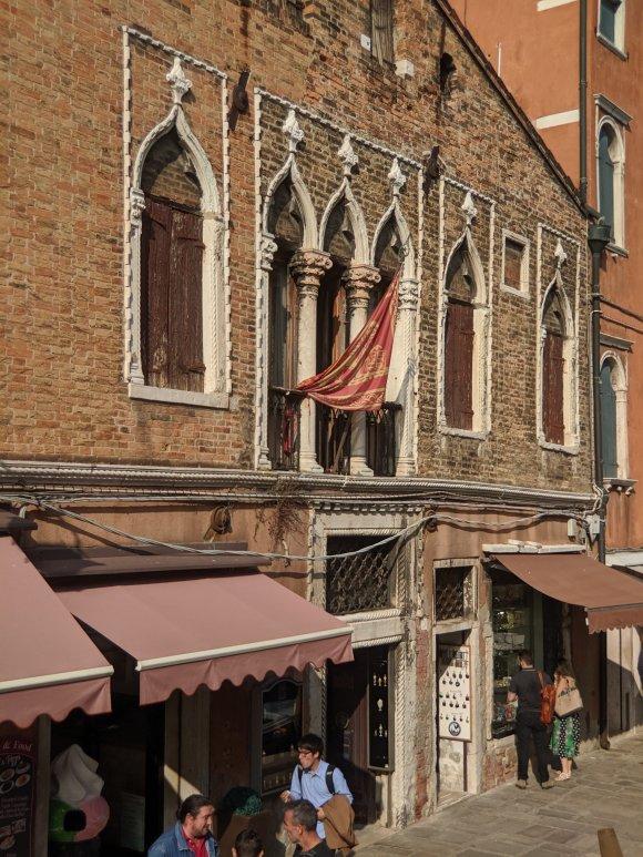 Italian architecture on the island of Murano