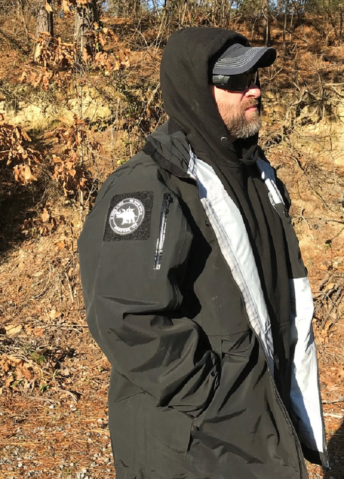 5.11 approach jacket with spotterup patch
