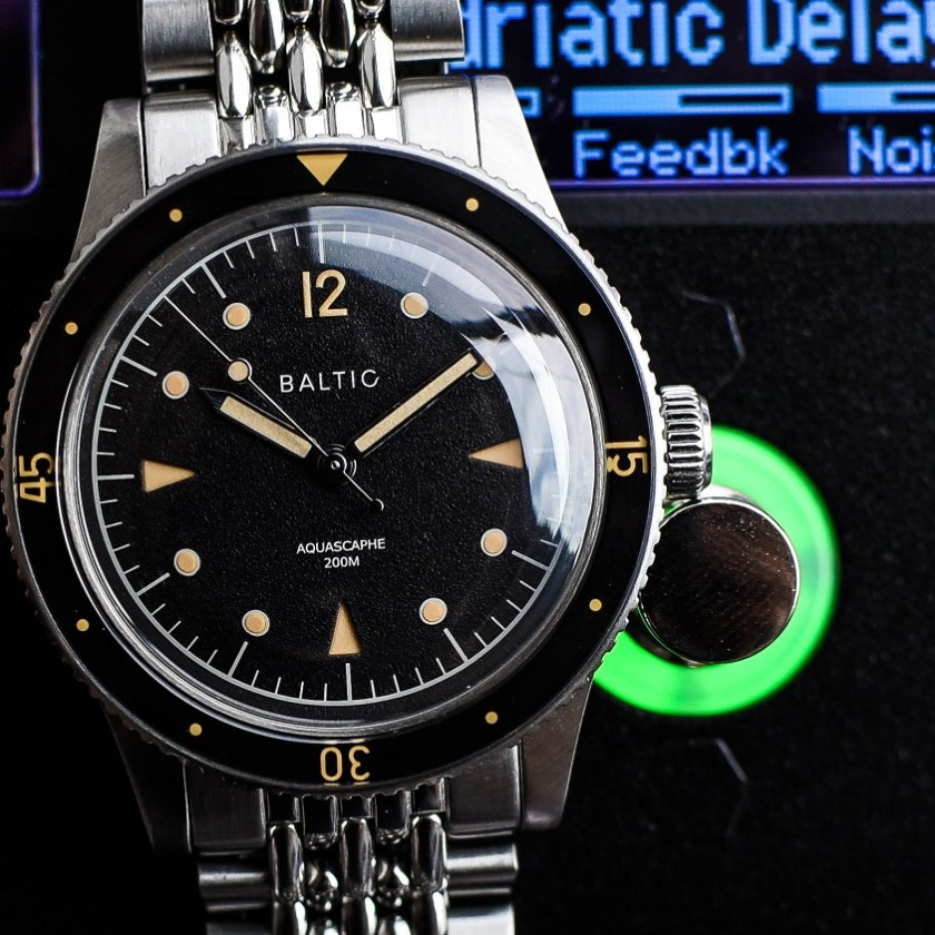 Baltic Aquascaphe dial and case