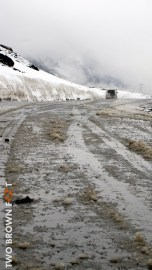 The sludge trail - Rohtang, India.
