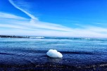 The end fate of icebergs.
