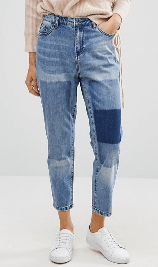 Only Tonni Boyfriend Jean with Patch Detail, ASOS | $61