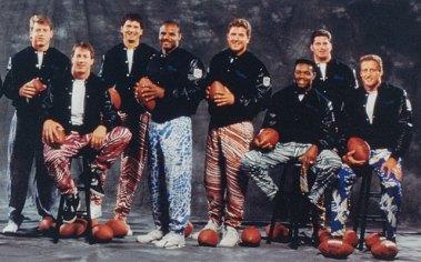 2BD - Diddy Curling_NFL Zebra Pants