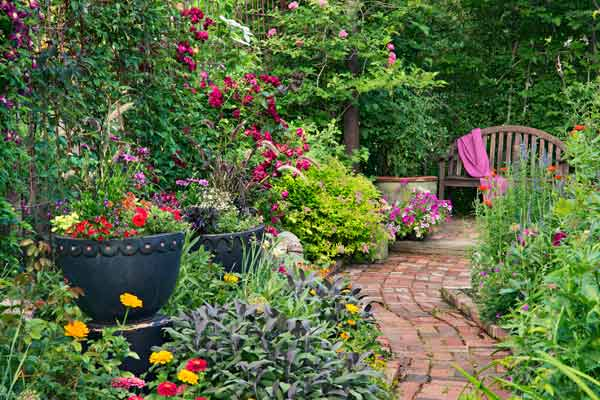 Troy's True Colors in Full Bloom During 19th Annual Hidden Garden Tour