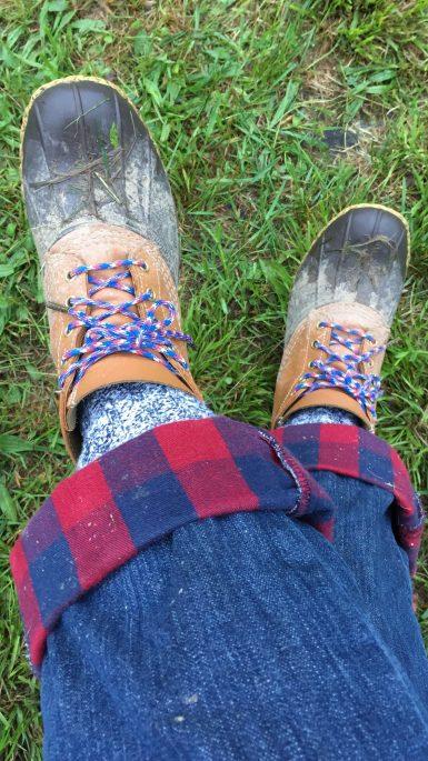 2BD - Ommegang2-Camping_muddy bean boots