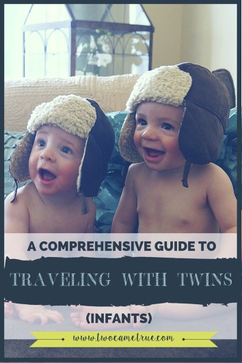 Traveling with twins can be complicated and scary. This comprehensive guide gives you all the information you need to know before you venture to the airport with your twin babies!