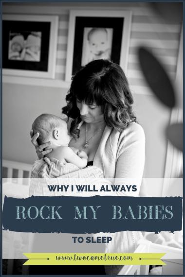 why i will always rock my babies to sleep