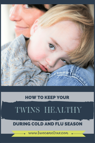 how to keep your twins healthy during cold and flu season