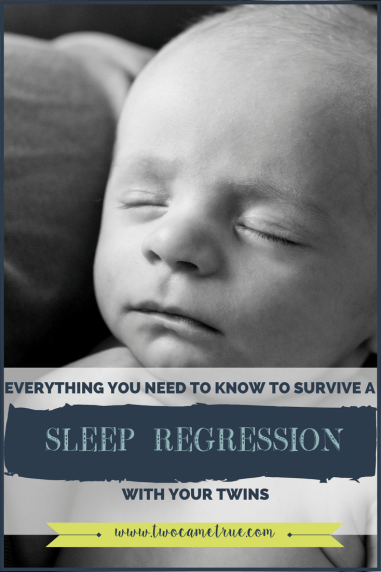 everything you need to survive a sleep regression with your twins
