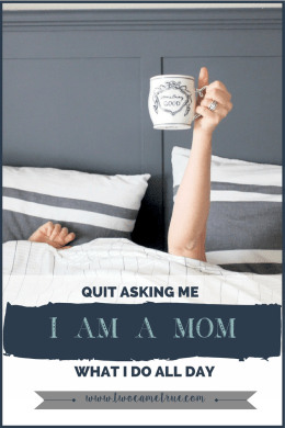 quite asking me what i do all day, i am a mom