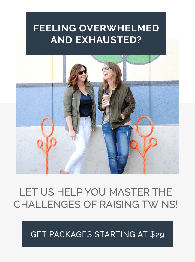 Let us help you master the challenges of raising twins!