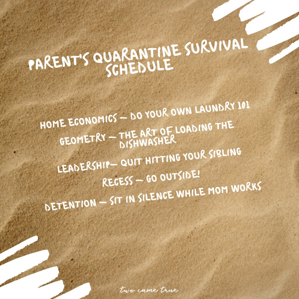 simple ways to shift thinking to survive quarantine