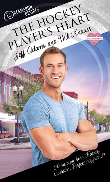 The Hockey Player's Heart by Jeff Adams and Will Knauss: Exclusive Video Guest Post, Release Day Review and Giveaway