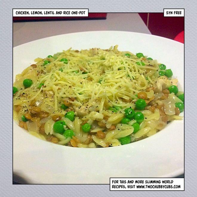 lentil chicken lemon rice