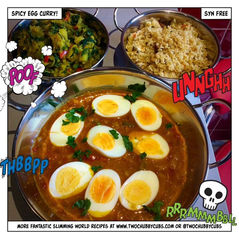 syn free sw egg curry