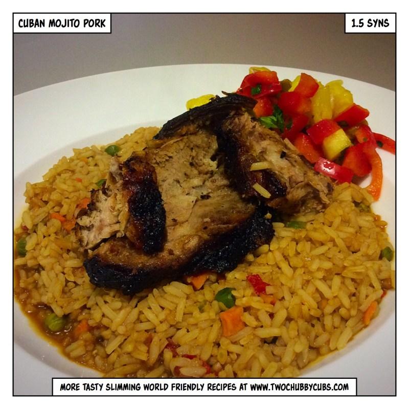 cuban mojito pork