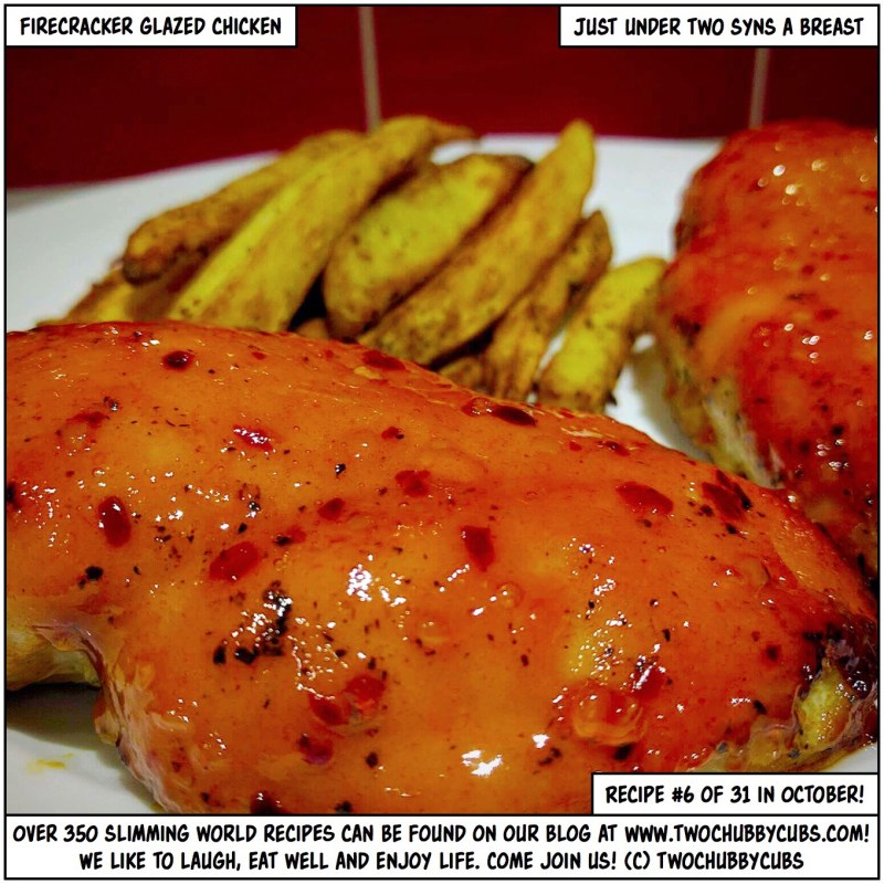 firecracker glazed chicken