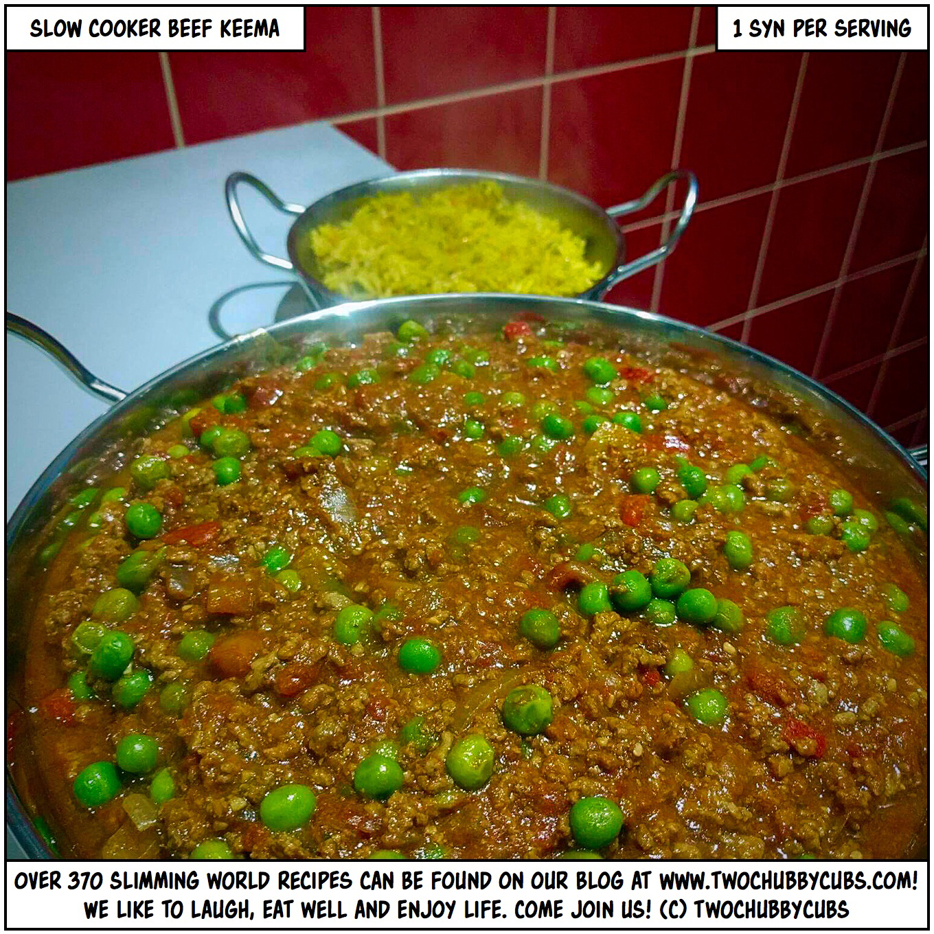 Homovember Recipe 1 Slow Cooker Beef Keema Twochubbycubs