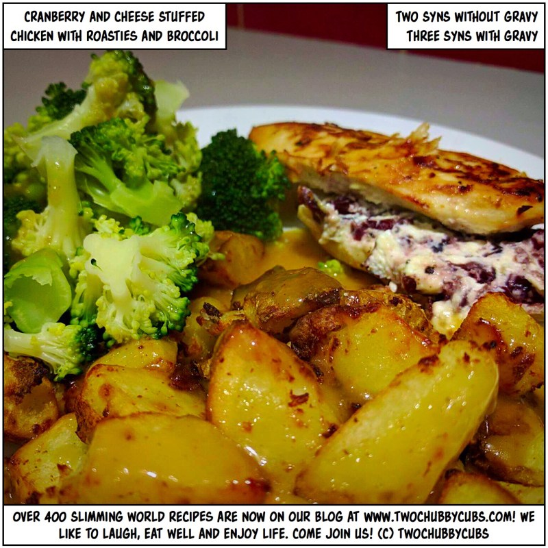 cranberry and cheese stuffed chicken