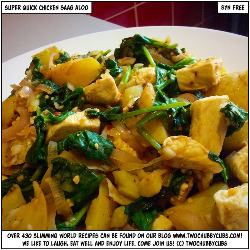 chicken saag aloo