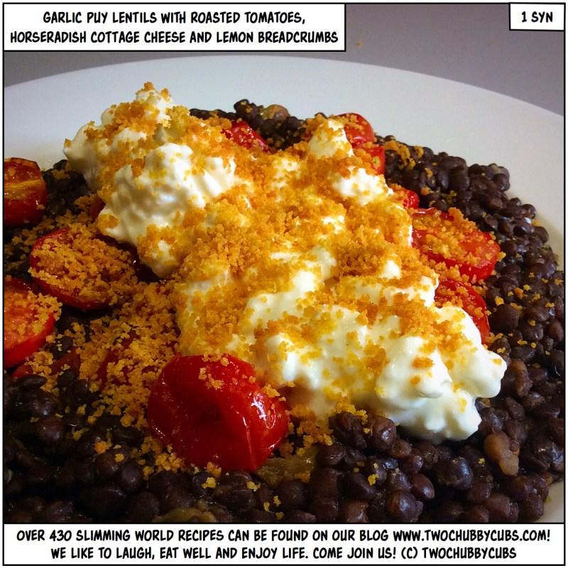 garlic puy lentils