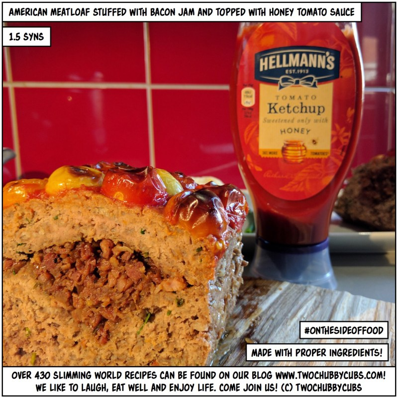 meatloaf stuffed with bacon jam