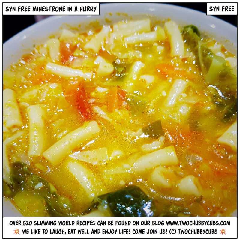 syn-free minestrone