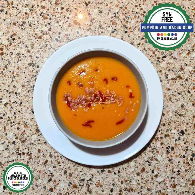 pumpkin and bacon soup