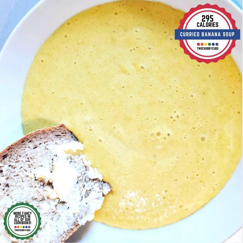 curried banana soup