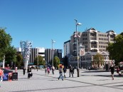 The devastating earthquake in Christchurch, New Zealand