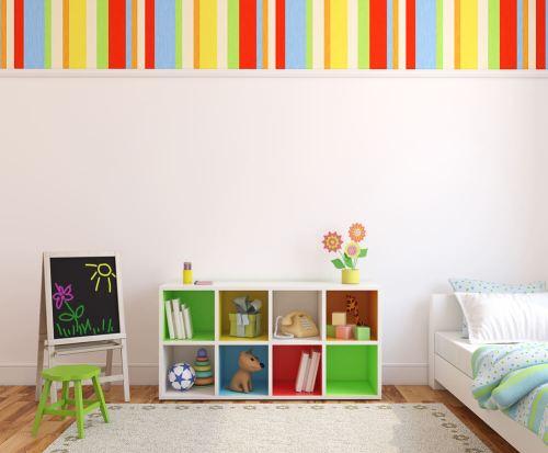 Organizing childrens' toys