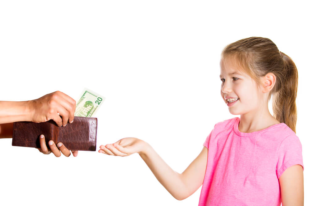 teach your kids about money with allowance or commissions?